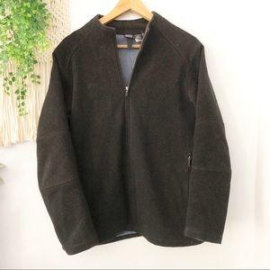 PATAGONIA Heavy Wool Zip Up Coat Jacket